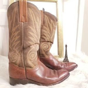 Vtg Rare FRYE Boots